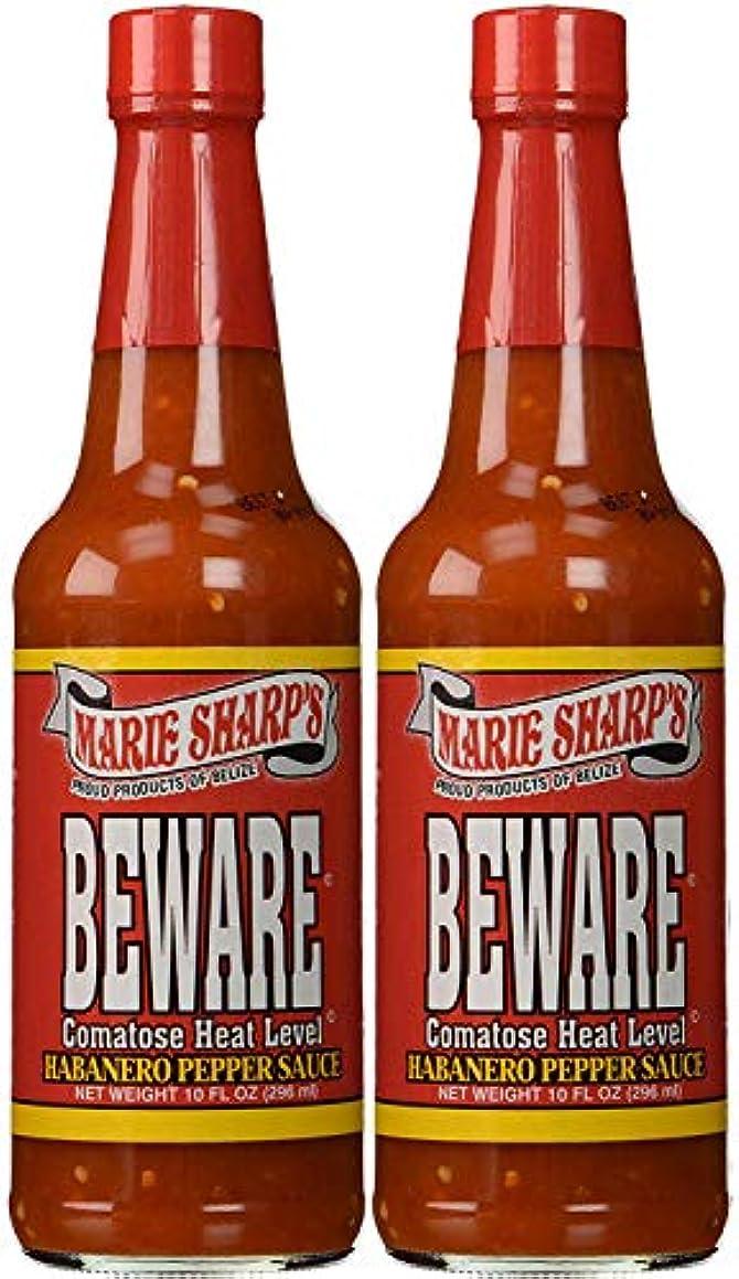 Marie Sharps Beware Comatose Hot Sauce 10oz (Pack of 2)