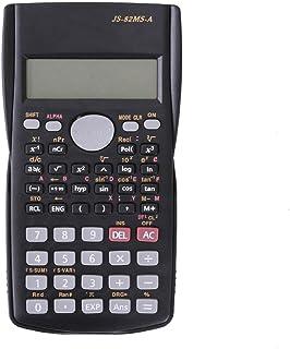 10 cm, ultradelgada, para Estudiantes, Material de Oficina Fishyu Mini calculadora multifunci/ón con Lupa