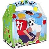 Amscan- Football Party Favor Box-1 Pc