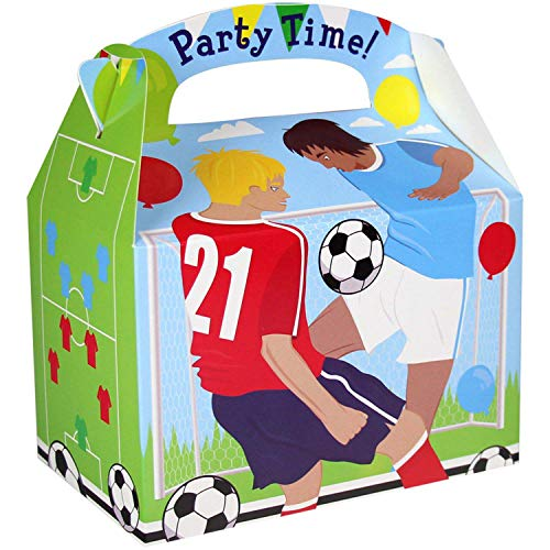 Amscan 9900096 Party Box Fußball