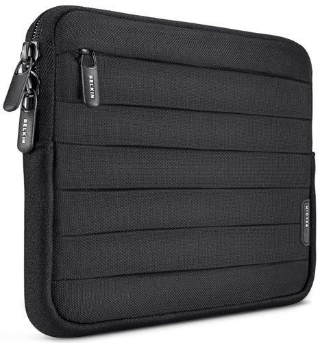 Belkin f8N671cwc00Plissee Nylon Sleeve für Kindle Papier weiß–schwarz
