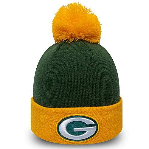 New Era Beanie Green Bay Packers #4071 mit UD Bandana