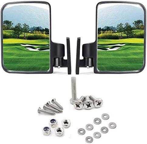 10L0L Golf cart Side Mirrors for Club Car EZ-GO...