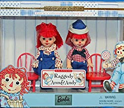 Image: Barbie Raggedy Ann and Andy / Tommy and Kelly Storybook Collectibles