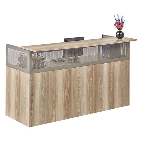 NBF Warm Ash Reception Desk