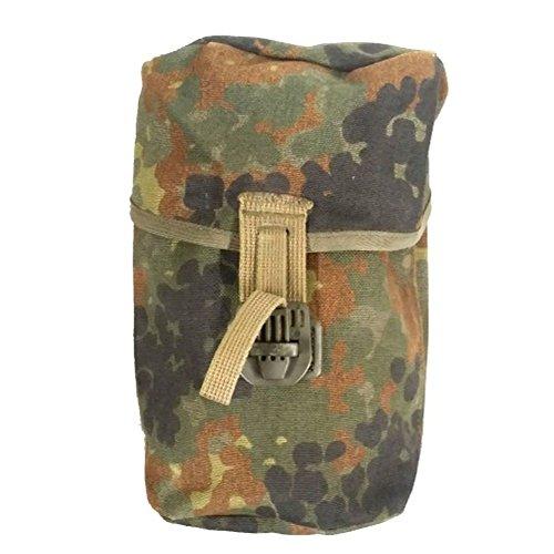 Original Bundeswehr Tasche Feldflasche Koppeltasche tarn neuwertig
