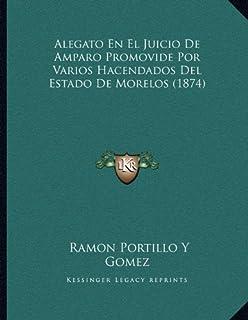 Alegato En El Juicio De Amparo Promovide Por Varios Hacendados Del Estado De Morelos (1874)