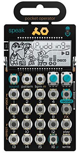 Teenage Engineering PO-35 Pocket Operator Speak Vocal Sampler/Sequencer