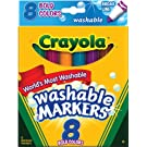 Crayola 8 Ct Bold Broad-Line Washable Markers