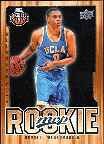 2008-09 Russell Westbrook Oklahoma City Thunder Upper Deck MVP Rookie Basketball Card #204