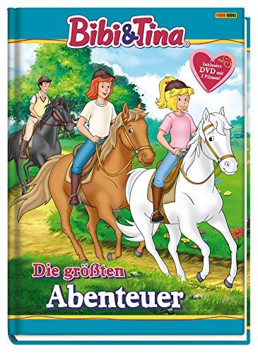 Bibi & Tina: Die größten Abenteuer: Buch mit DVD