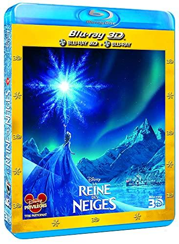 La Reine des neiges 3D + Blu-Ray 2D