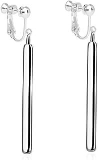modern clip on earrings