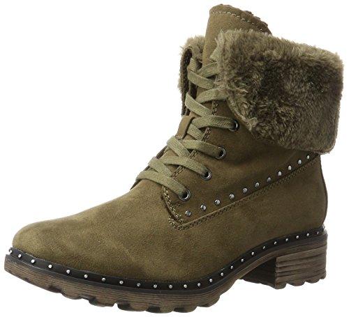 Tamaris Damen 26712 Combat Boots, Grün (Moss), 40 EU