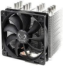 tecmac New 4pin 6 Heatpipe CPU Cooler Dual-Tower Air Cooling 800-2200 Revolution Heatpipe CPU Cool