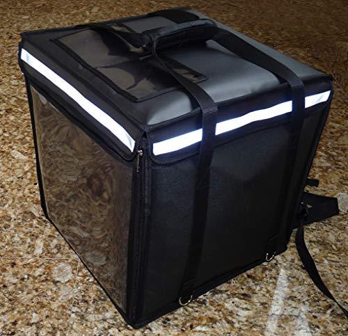 Bolsas y mochilas isotérmicas para el reparto de comida, pizza, tipo Glovo y Deliveroo. Nuevas. MADE IN SPAIN. Las más grandes: 47X47X45 cm, 90 l, 2,850 gr.