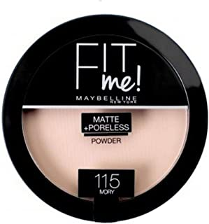 Maybelline New York Fit Me Matte + Poreless Face Powder - 0.29 oz., 115 Ivory
