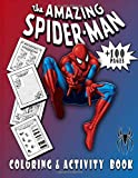 The Amazing Spiderman Coloring and Activity Book: spider-man activity...