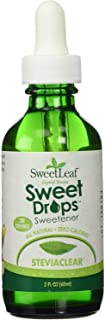 SweetLeaf, Sweet Drops Liquid Stevia Sweetener, SteviaClear, 2 oz