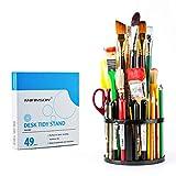 Transon Paint Brush Holder Organizer 49 Slots for Pens, Brushes, Markers