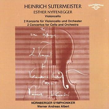 Heinrich Sutermeister: 2 Concertos for Cello and Orchestra