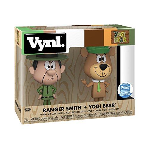 Funko Vynl Ranger Smith and Yogi Bear POP! Limted Edition Version