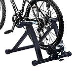 HOMCOM Home Trainer vélo Support d'entrainement Pliable pour...