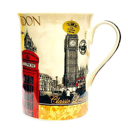 London Landmarks Mug, Fine Bone China, Gift Boxed