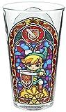 The Legend of Zelda Vaso Cristal, Multicolor, 15x10x10 cm