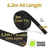 Zoom IMG-1 raccogli cavi 3 pezzi mosotech