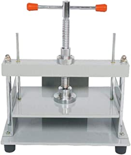 INTBUYING A4 Steel Notes Invoice Bookbinder Press Screw Bookbinding Financial Receipt Flattening Papermaking Machine