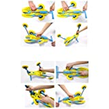 MEKBOK Fly Bike Foldable Indoor/Outdoor Toddlers Glide Tricycle - Blue