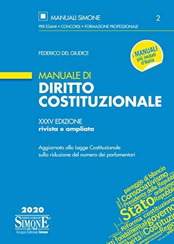 Manuale di diritto costituzionale