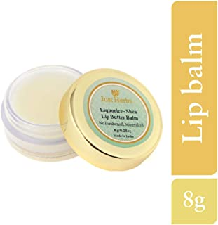 Just Herbs Liqorice Shea Lip Butter Balm, 8g