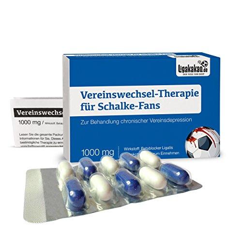 Alles für Schalke-Fans by Ligakakao.de Schalke geldbörse ist jetzt VEREINSWECHSEL-Therapie Portemonnaie Herren Geldbeutel Wallet Leder