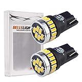 【ベルライト】BELLELiGHT T10 LEDバルブ 3014チップ 24連 2個セット EX032 (電球色)