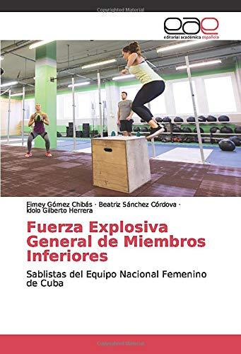 Fuerza Explosiva General de Miembros Inferiores: Sablistas del Equipo Nacional Femenino de Cuba
