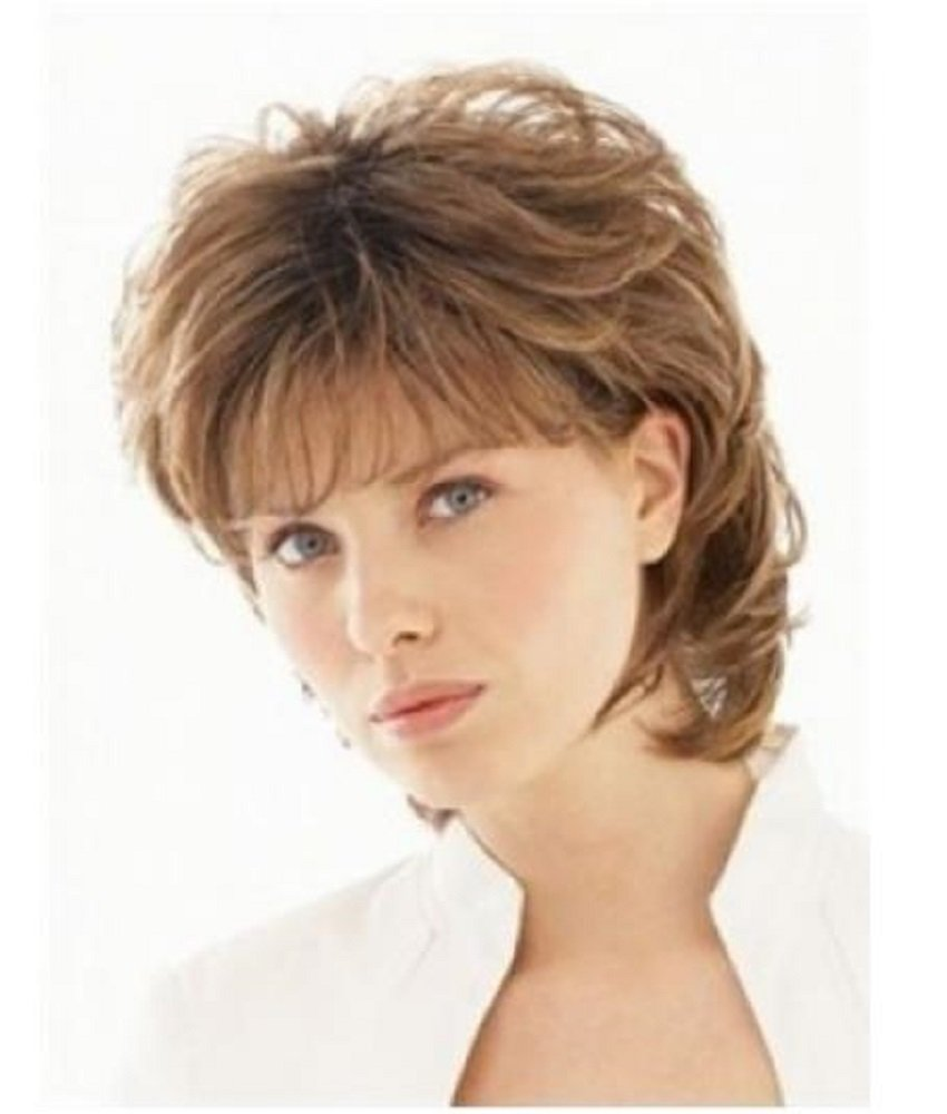 Magicalove Fashion Short Blonde Small Kindly Curly Human Hair Wigs For Women Usual Life Buy Online In Cambodia At Desertcart