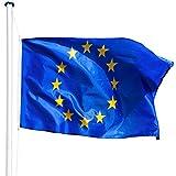 <span class='highlight'><span class='highlight'>TecTake</span></span> Aluminium flag pole 20.5 ft 6.25 m   flag   ground sleeve   rope hoist - different models - (Europe   no. 402859)