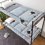 Colchones Futón camas con protector de colchón, colchón de plato futón de roll-up, piso de dormir plegable for niños, colchón de tatami for niños, tapete de tatami engrosado for dormir, colchón dormit