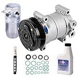 OEM AC Compressor w/A/C Repair Kit For Chevy Silverado Suburban Tahoe GMC Sierra Yukon GMT400 - BuyAutoParts 60-83084RN NEW