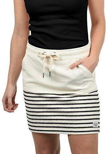 Desires Pippa Falda (Minifalda, Falda Tejana, Falda Deportiva) para Mujer con Estampado De 100% algodón, tamaño:XL, Color:Black (9000)