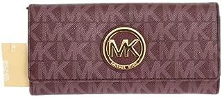 Signature PVC Fulton Flap Wallet