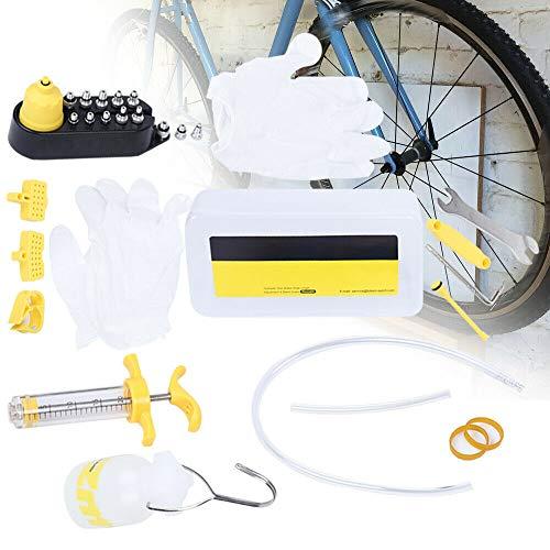 Discos hidráulicos para bicicleta, frenos de aceite, sangre y kit de herramientas...