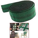 AUXPhome Elastic 10% Stretch Latex Webbing Upholstery Elasticated Band Strap Belt Elastic Spool 2