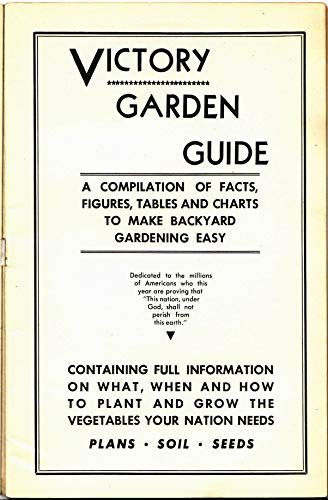 Victory Garden Guide: 1943 Victory Garden Guide - Presented by Prepper Living by [Prepper Living]