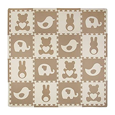 Tadpoles Baby Play Mat, Kid's Puzzle Exercise Play Mat
