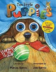 Ten Little Puppies (Eyeball Animation)