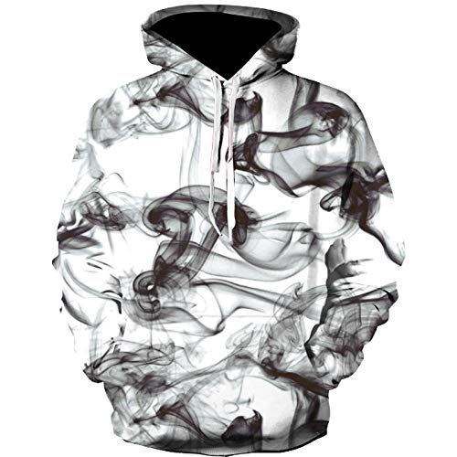 Männer Frauen 3D Sweatshirts Druck Paisley Blumen Smog Hoodies Herbst Winter Dünne Kapuzenpullover Tops Männer Kleidung