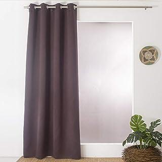 Enjoy Home Blackout Curtain 140 x 240 cm Dark Brown
